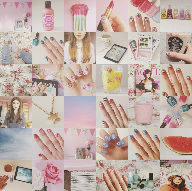 UK beauty fashion and nail art blog I am an instagram addict 768x766