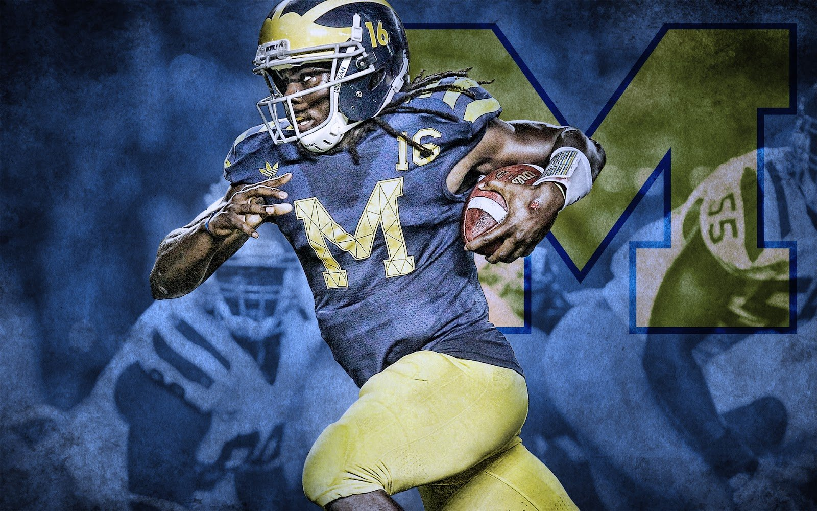 Michigan Wolverines Relay Wallpaper 1600x1000