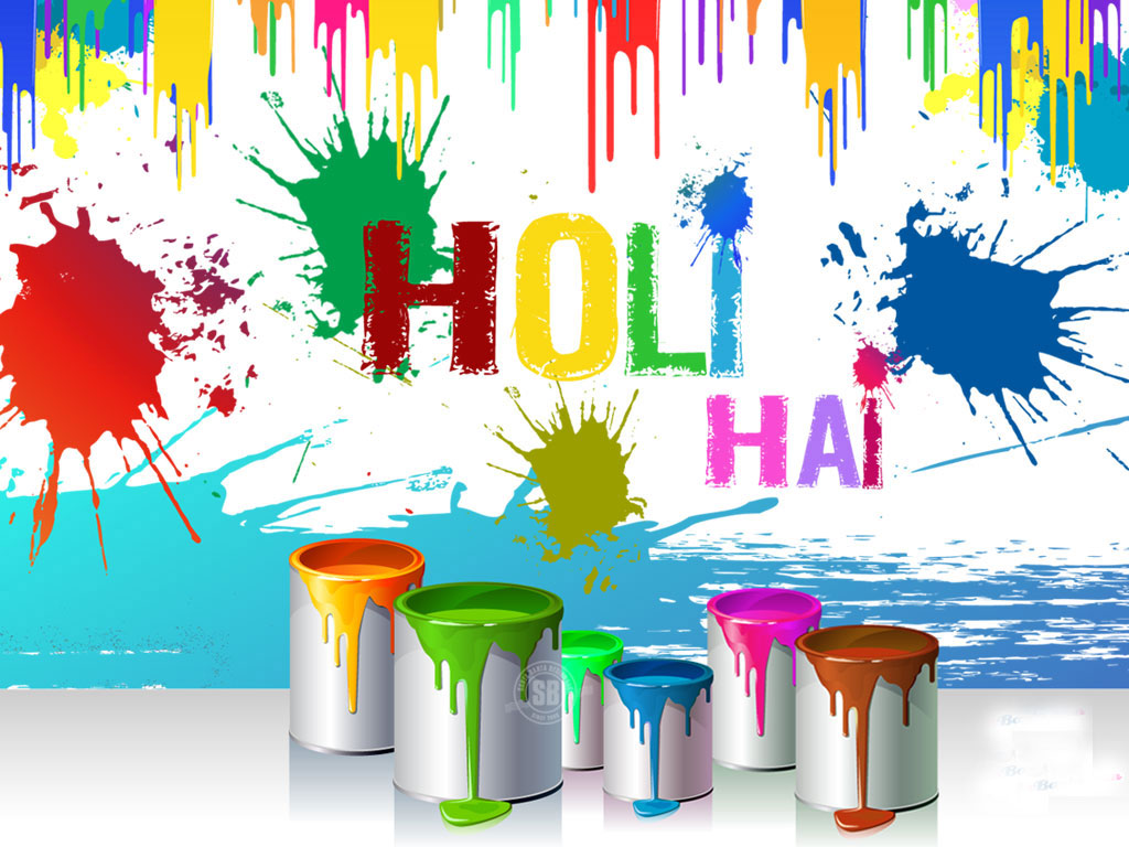 Special Holi Wallpaper Download 1024x768