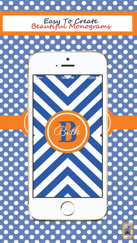 Free Download Monogram Wallpaper Maker App Clinic 480x852