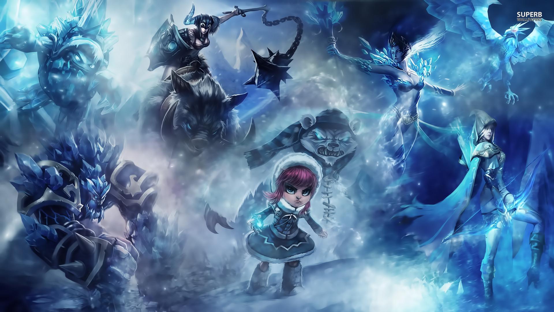 League Of Legends Wallpaper Kda