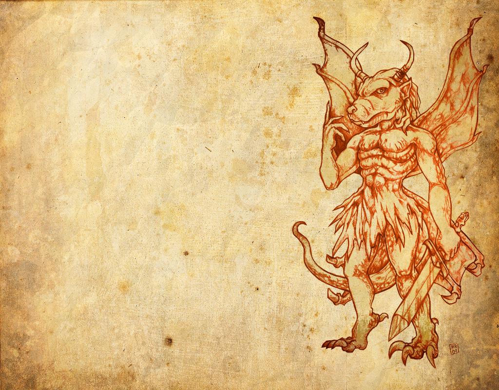 Pazuzu Wallpaper by hawanja 1024x800