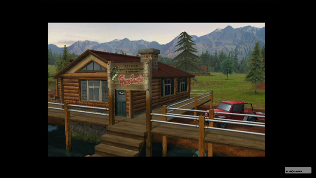 Bass Fishing Wallpaper Previous sega bass fishing 1280x720