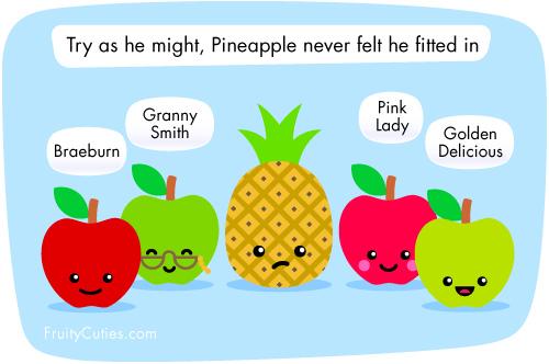 Cute Fruit Wallpaper Cute Cartoon Fruit 500x332