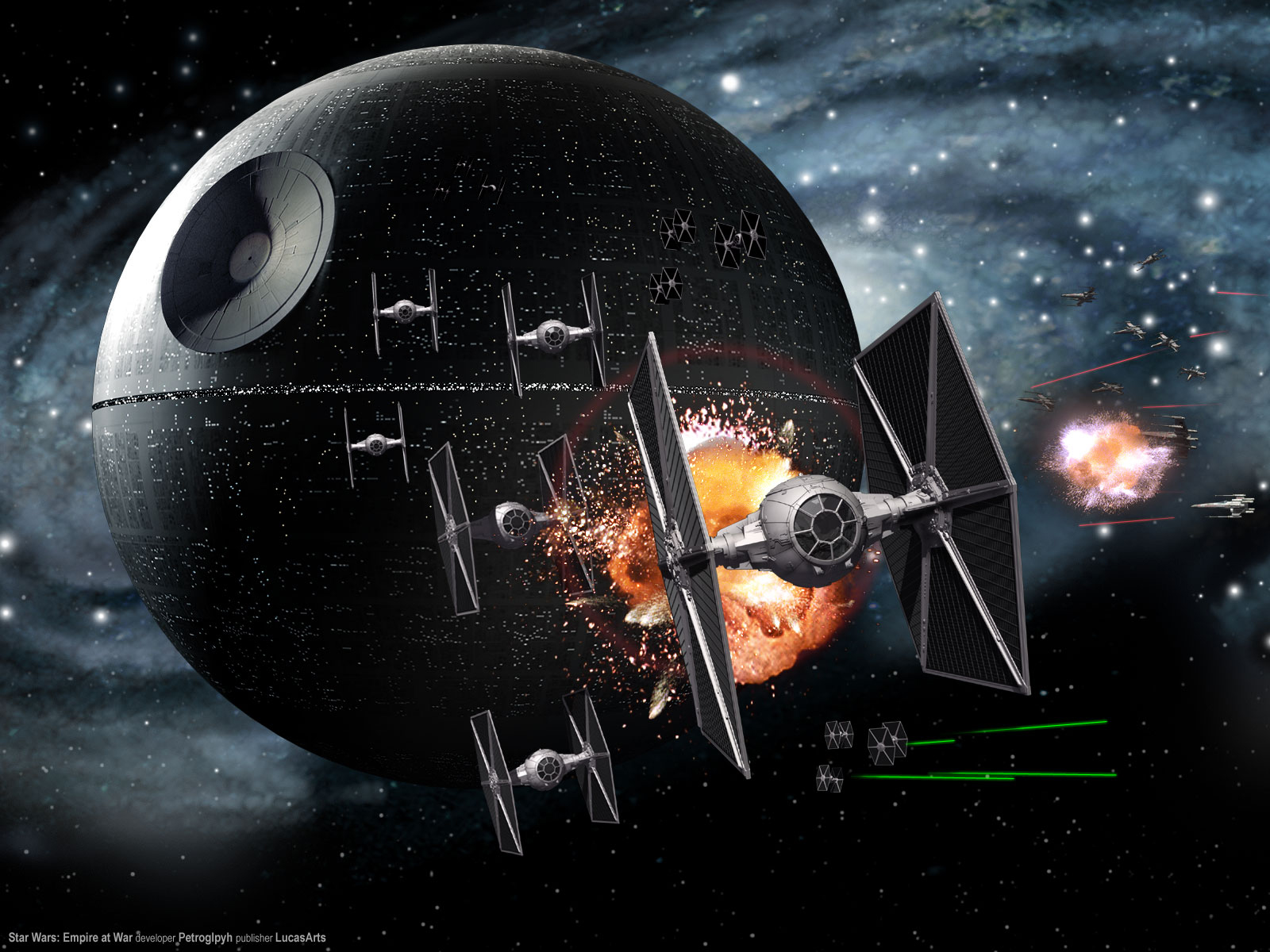 hd star wars death star wallpaper Star Wars Wallpaper 1600x1200