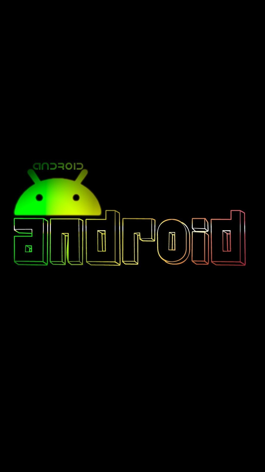 hd android logo wallpaper for mobile 1080x1920 1080x1920