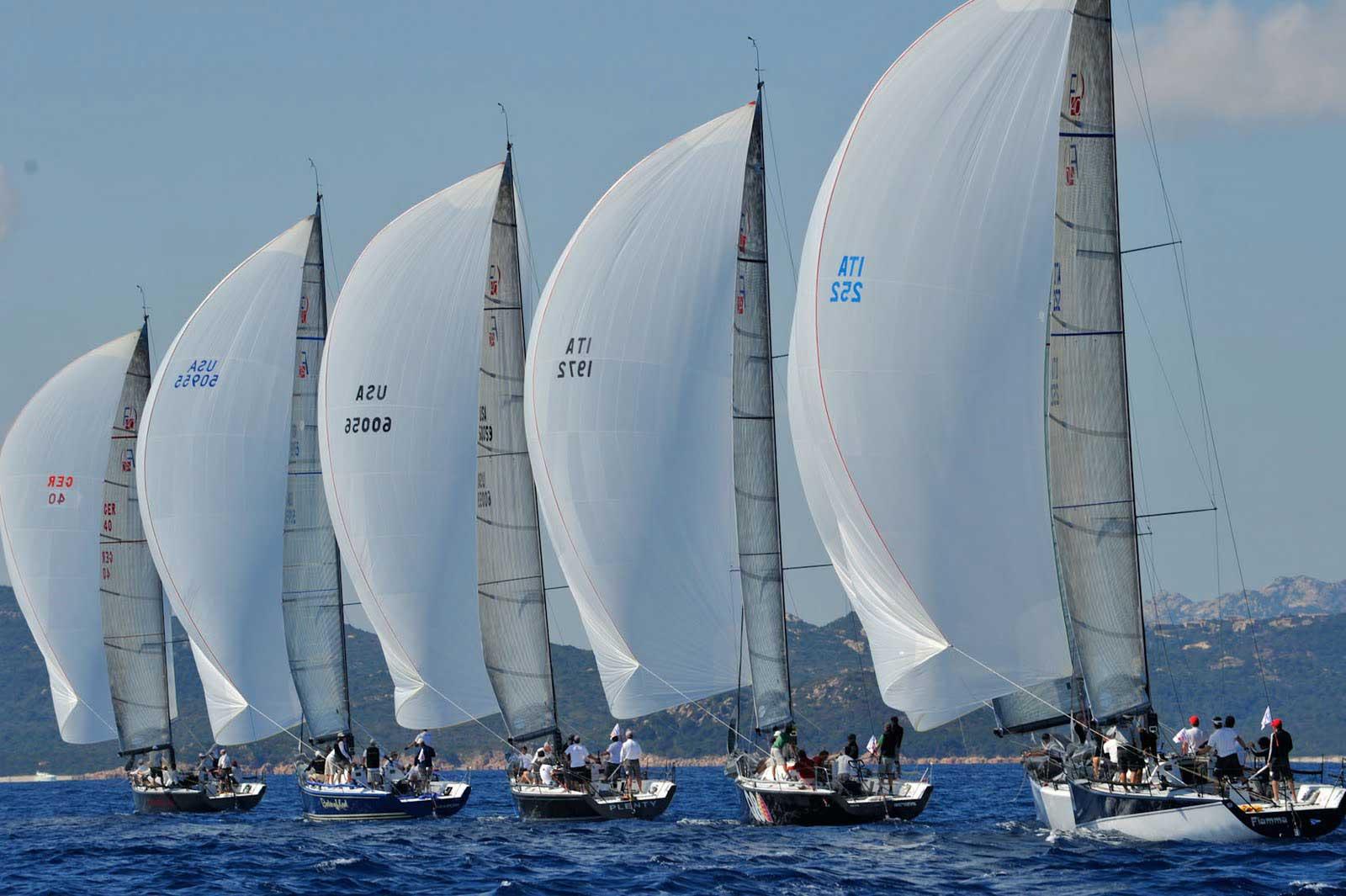 Racing Sailboat Wallpaper - WallpaperSafari