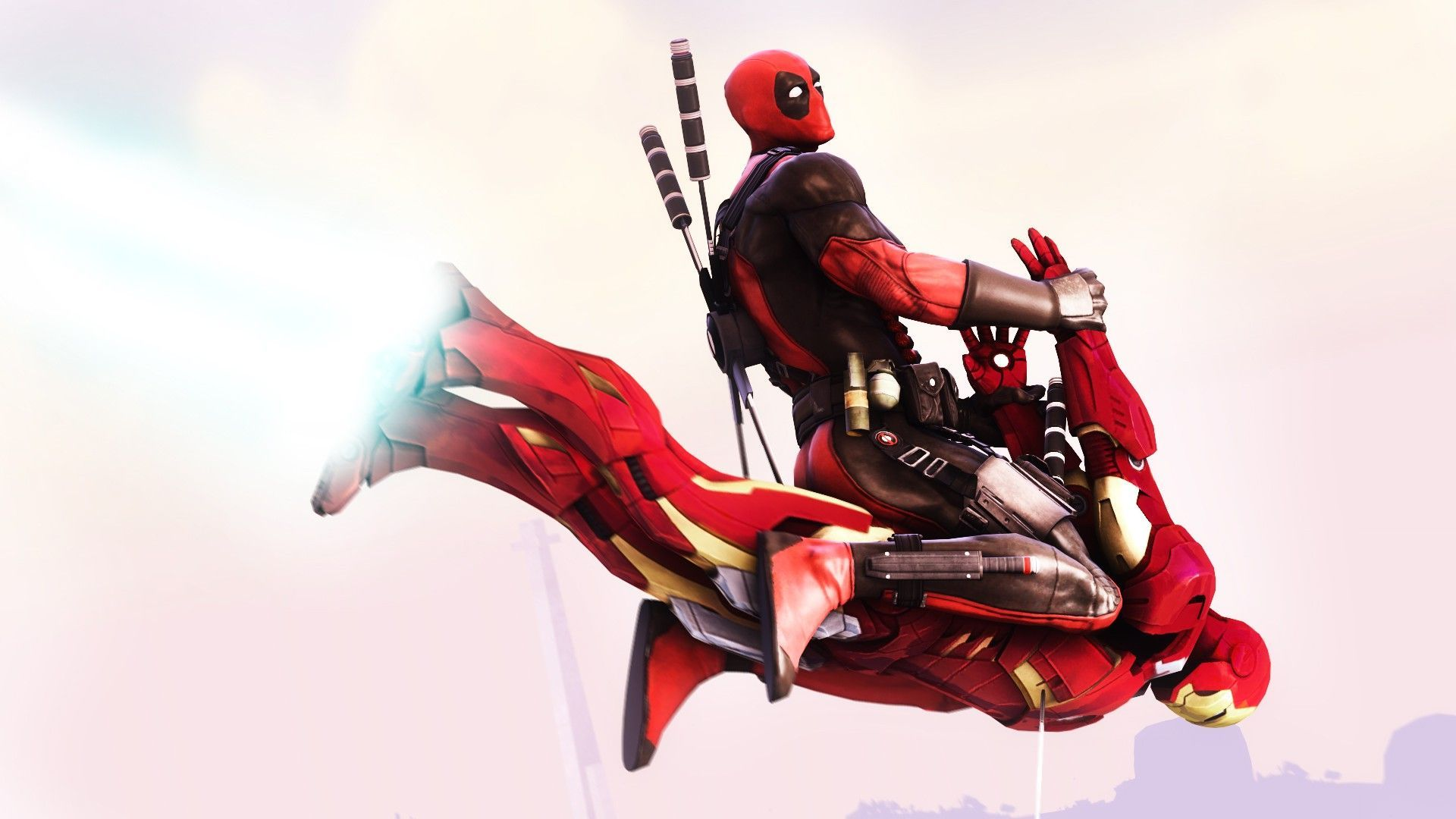 Spiderman And Deadpool Wallpapers Hd   Deadpool Funny Wallpapers