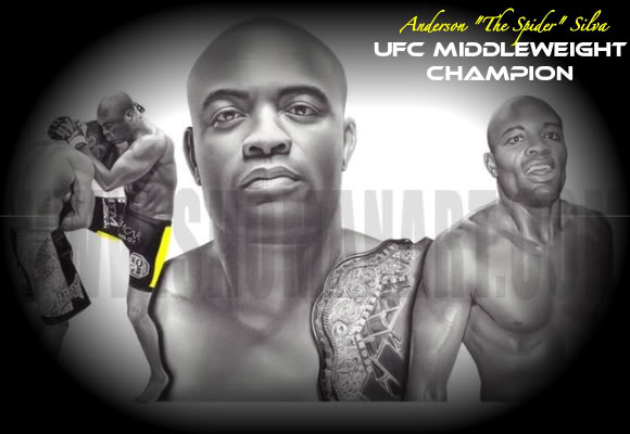 Anderson The Spider Silva Wallpaper Anderson the spider silva 580x400