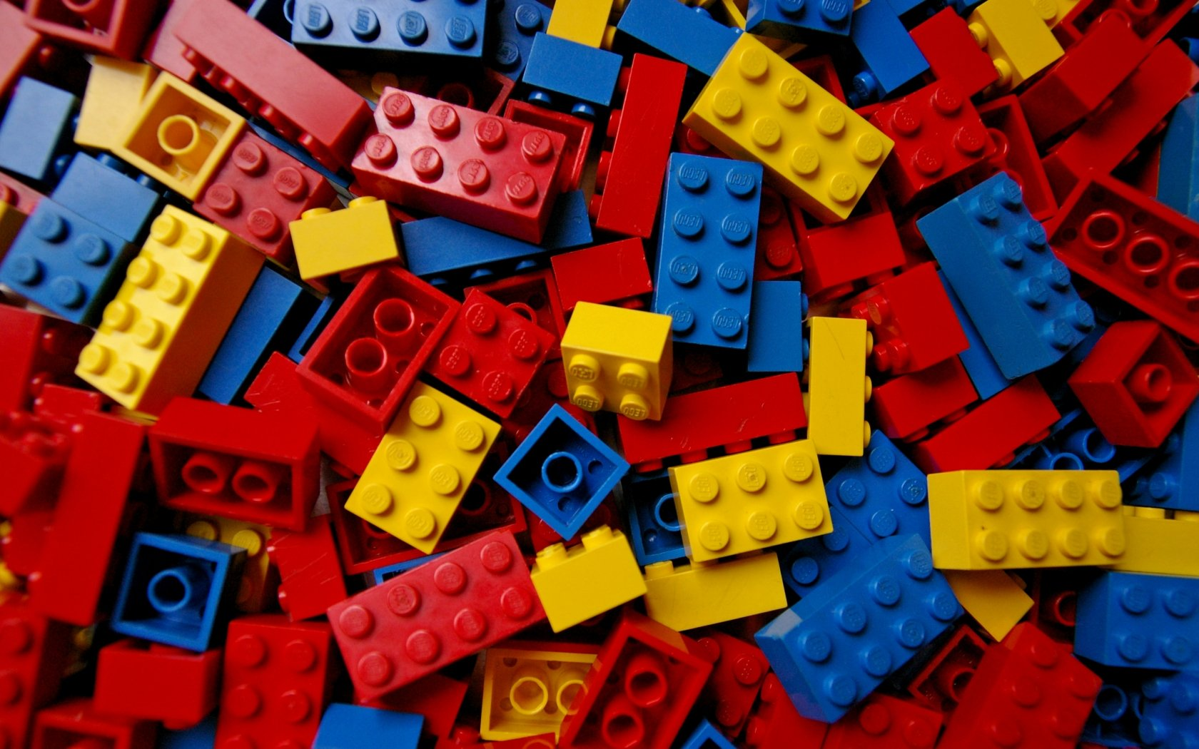 GALLERY Lego Bricks Wallpaper 1680x1050