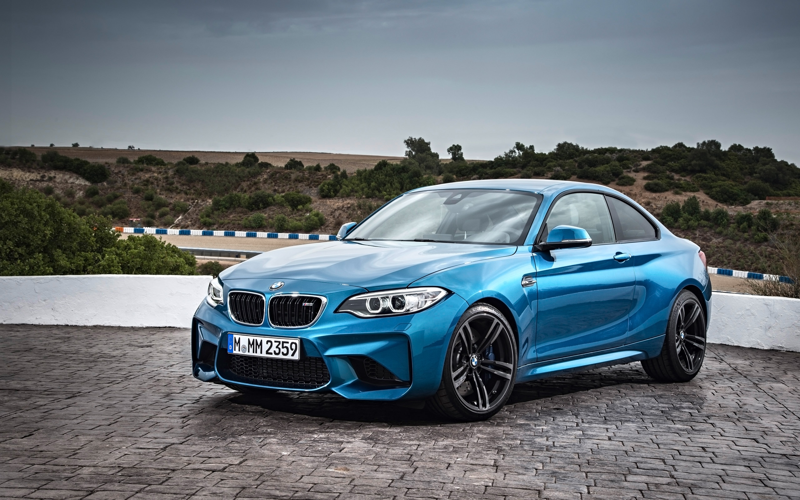 2016 BMW M2 Coupe Wallpaper HD Car Wallpapers 2560x1600