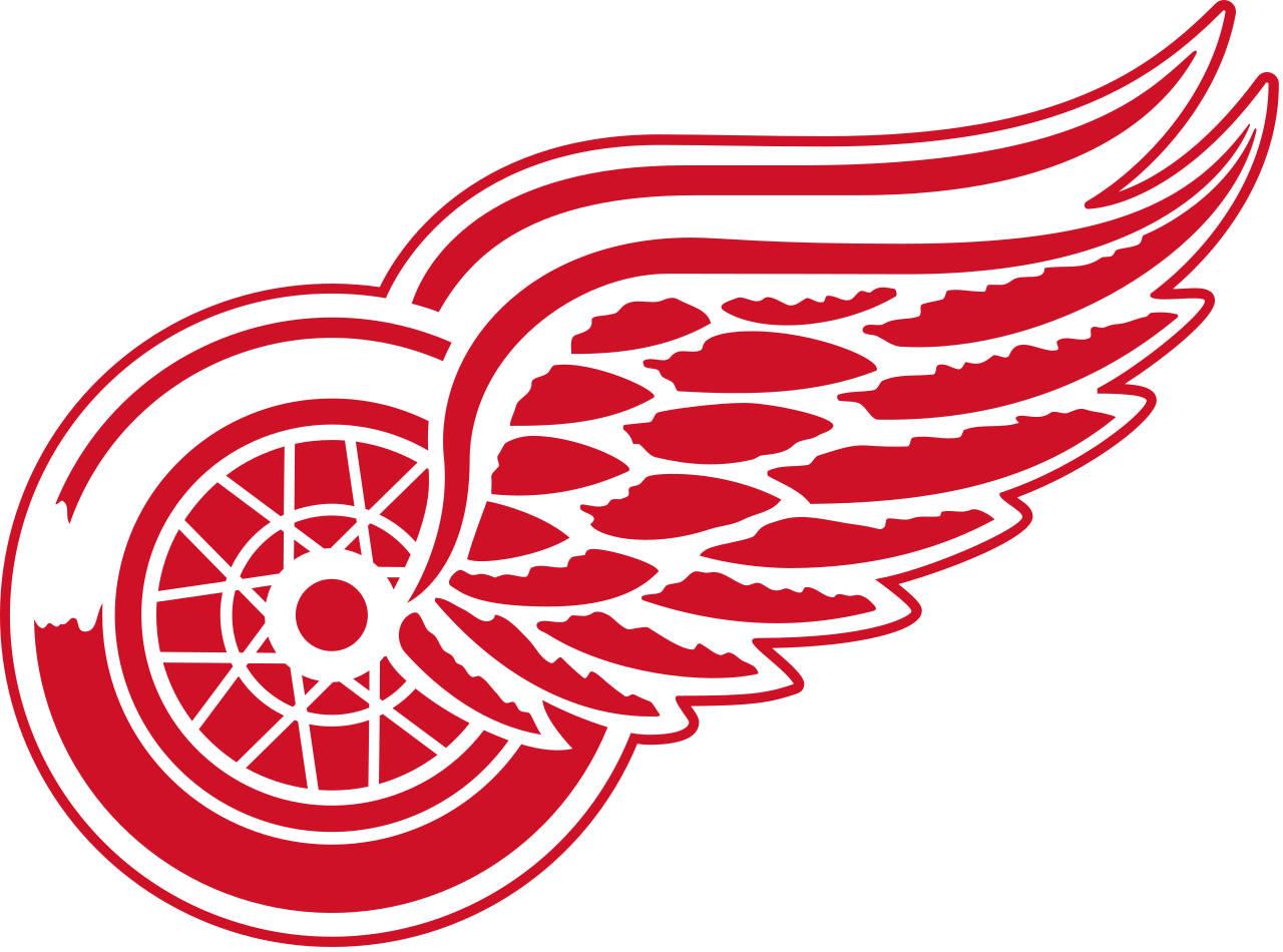 Detroit Red Wings Logo transparent PNG   StickPNG 1280x950