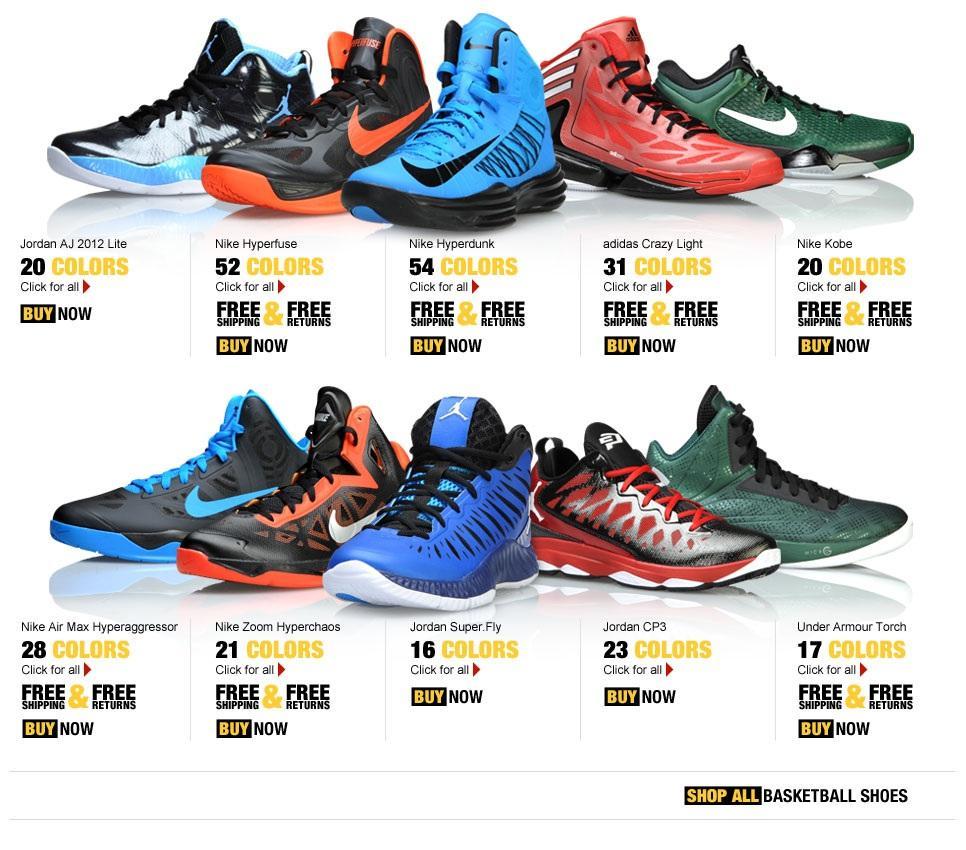 Sneaker Wallpaper: Basketball Shoes Wallpaper