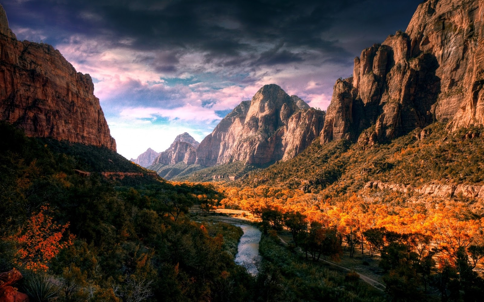 Windows 7 Desktop Backgrounds Mountains 1600x1000