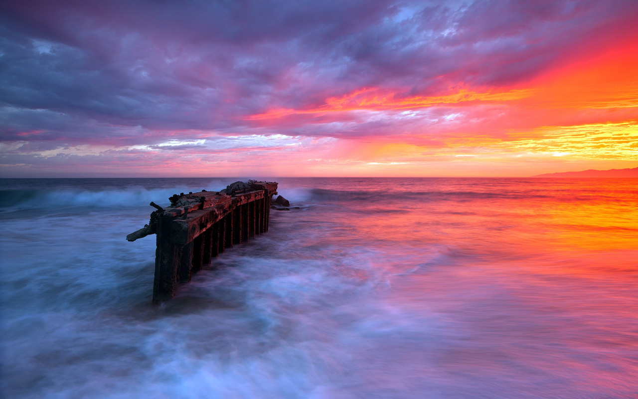 34 New Seascape Wallpapers Seascape Wallpapers 1280x800