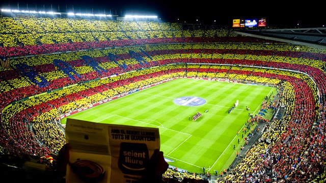Camp Nou HD Wallpaper Fc Barcelona Photo 640x360