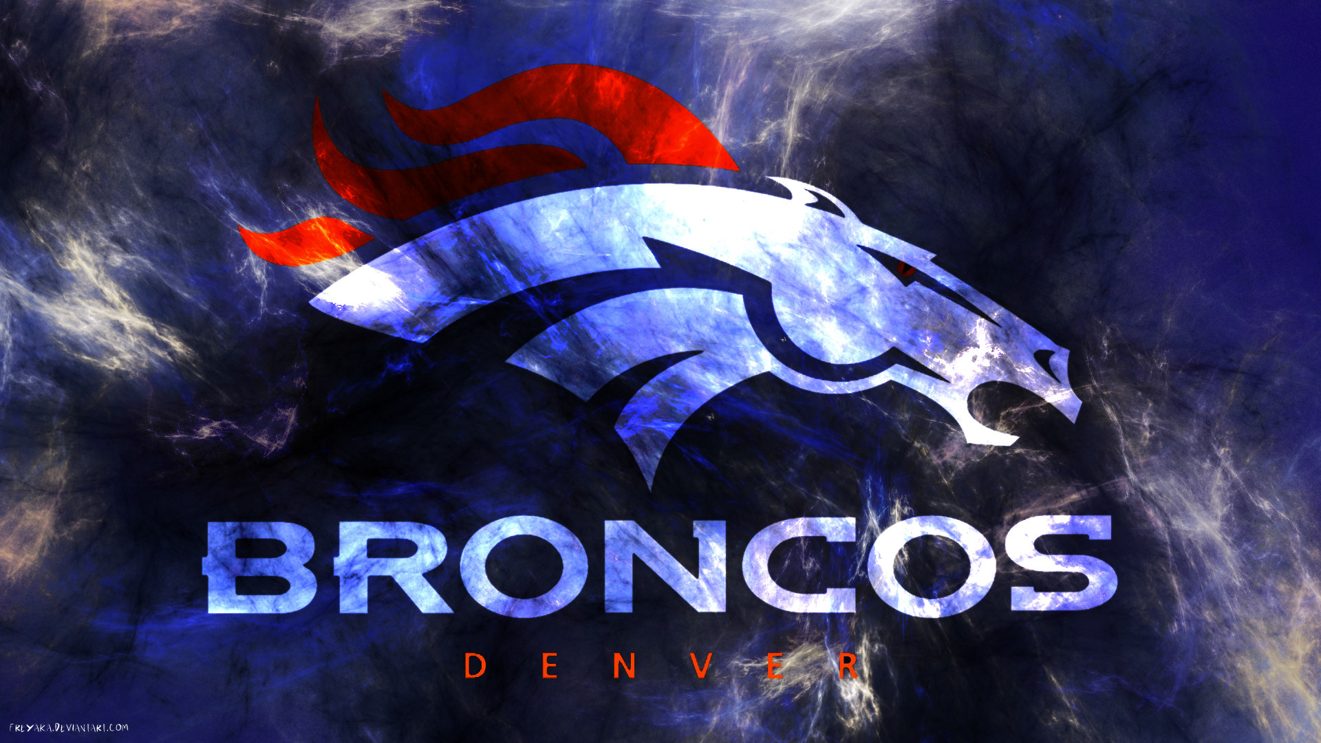 Denver Broncos by freyaka 1920x1080