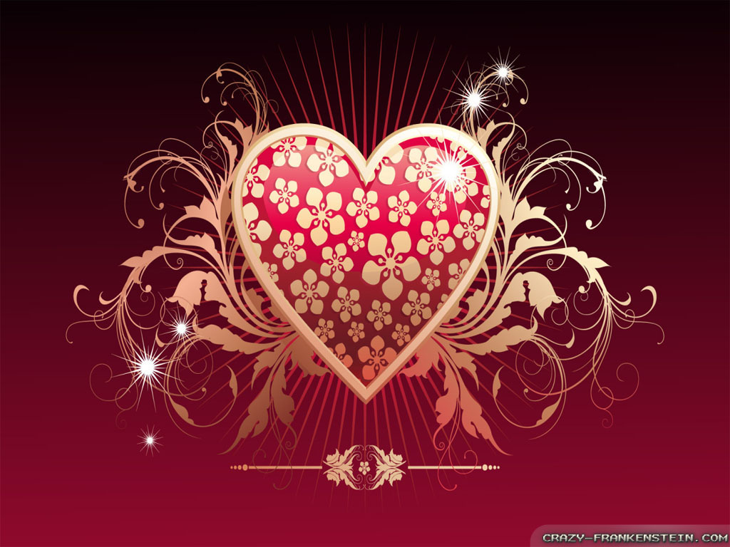 day heart wallpapers valentines day heart wallpapers valentines day ...