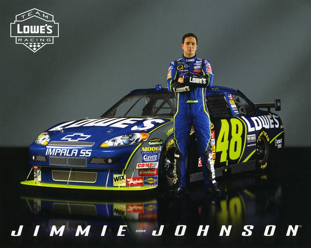 free jimmie johnson wallpaper 1000x795