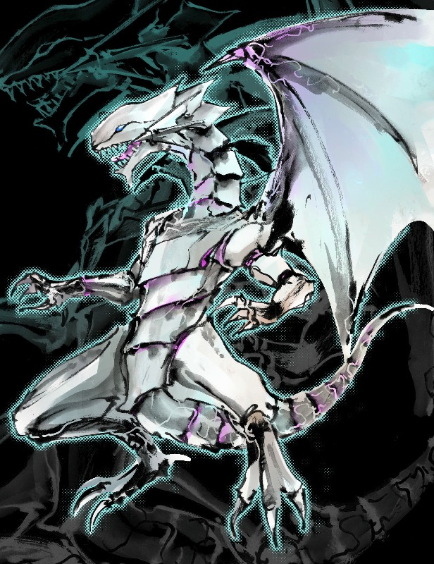 Free Download Blue Eyes White Dragon By Ikuyoan 616x800 For Your