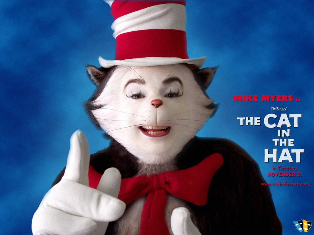 The Cat in the Hat Desktop Wallpaper 33356 Movies 1024x768