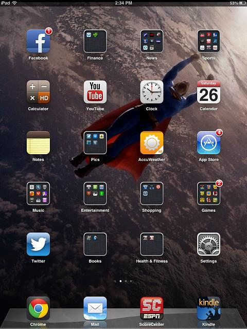 Show us your iPad Mini Lock and Home screen   Page 2   iPhone iPad 480x640
