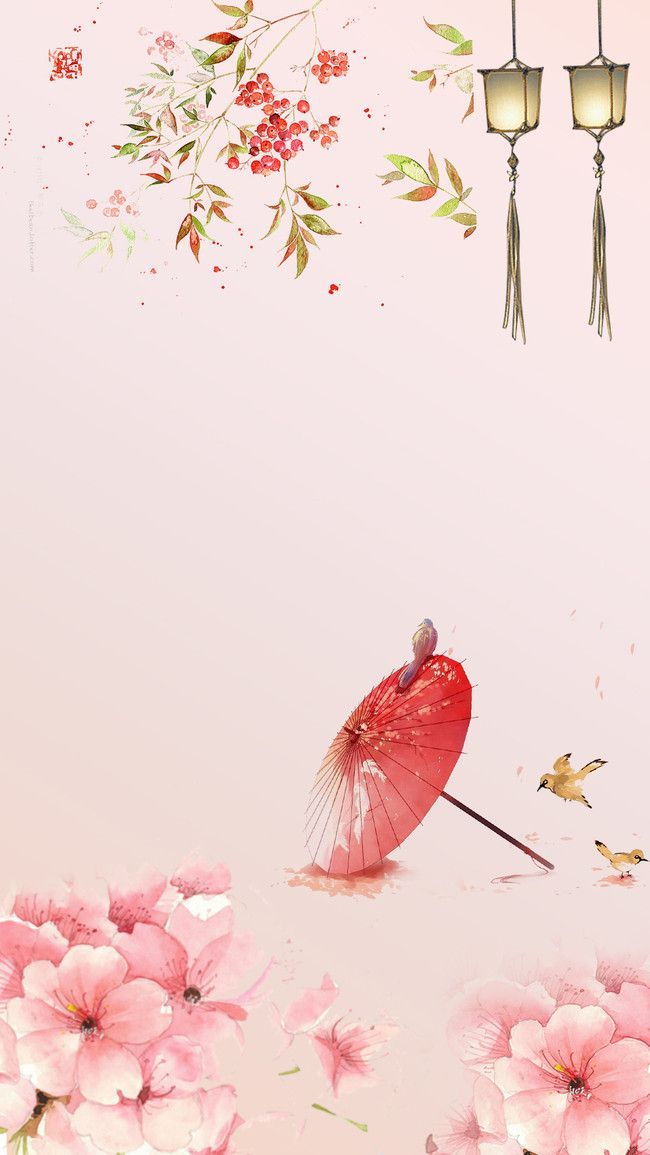 Pink Plum Blossom Background in 2020 Pink background images 650x1155