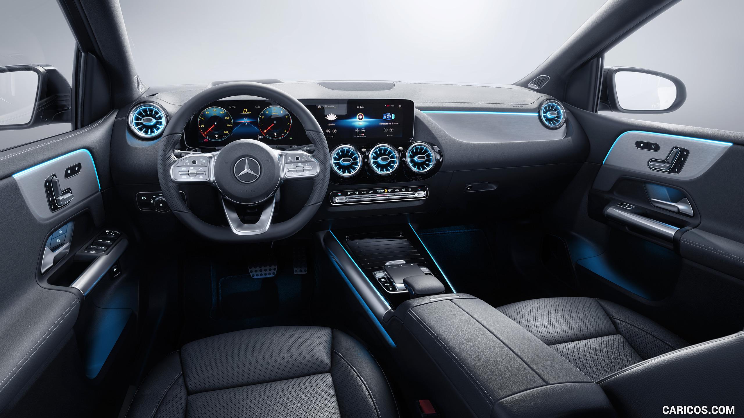 2019 Mercedes Benz B Class   Interior Cockpit HD Wallpaper 45 2560x1440