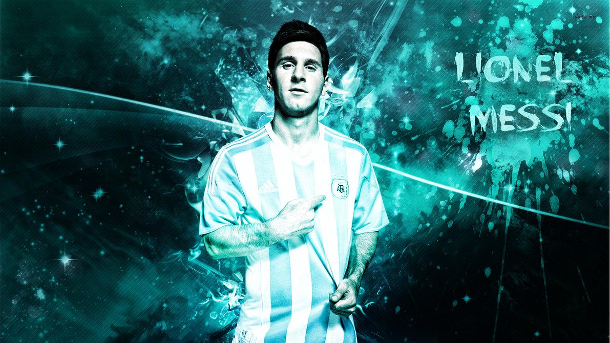 Lionel Messi 2015 Wallpaper by RakaGFX 1191x670