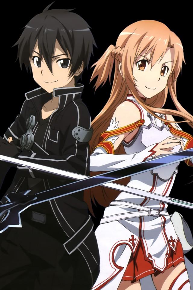 Asuna and Kirito Forever 640x960