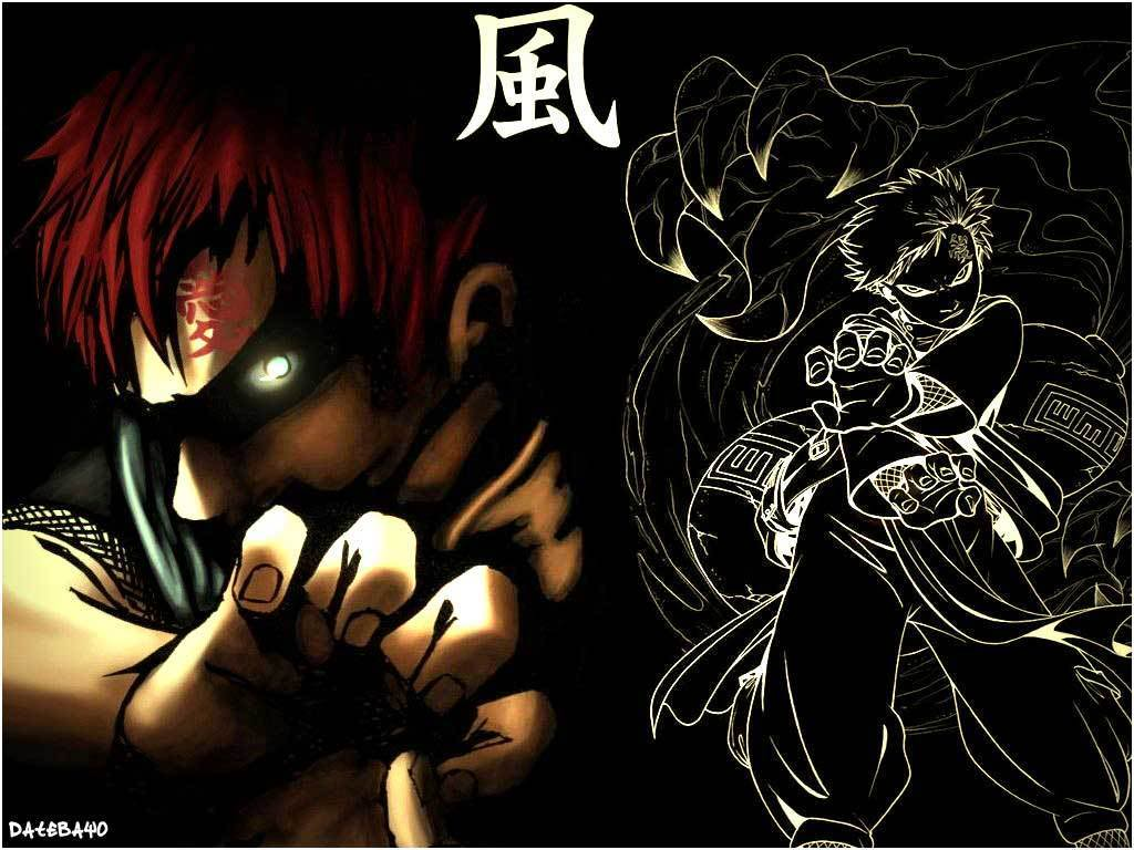 Wallpapers Gaara Kazekage 1024x768