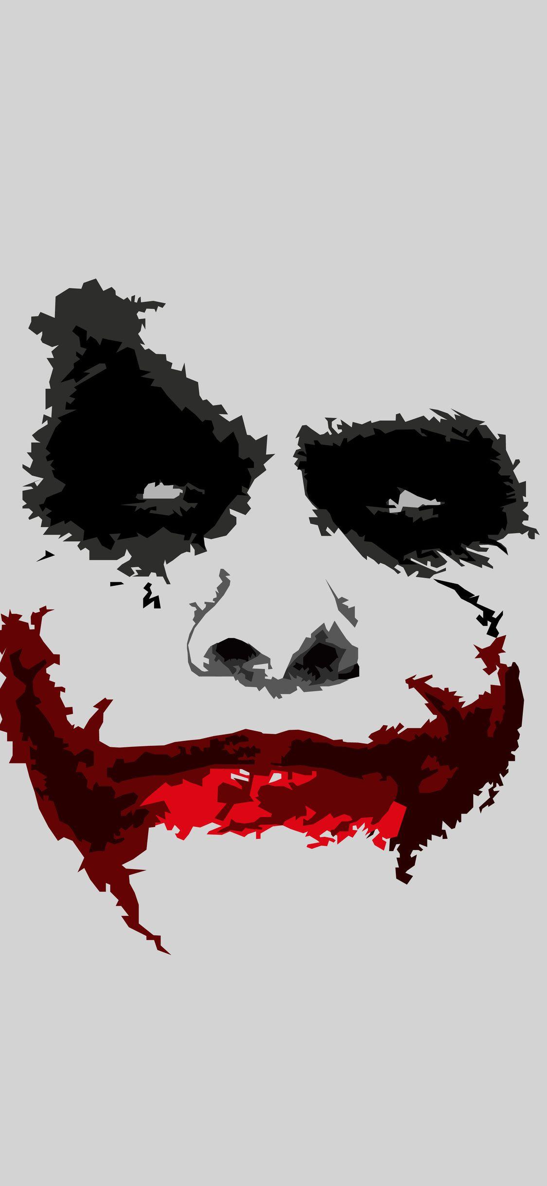 Joker 8k Minimalism Iphone X DC Marvel Joker iphone 1125x2436