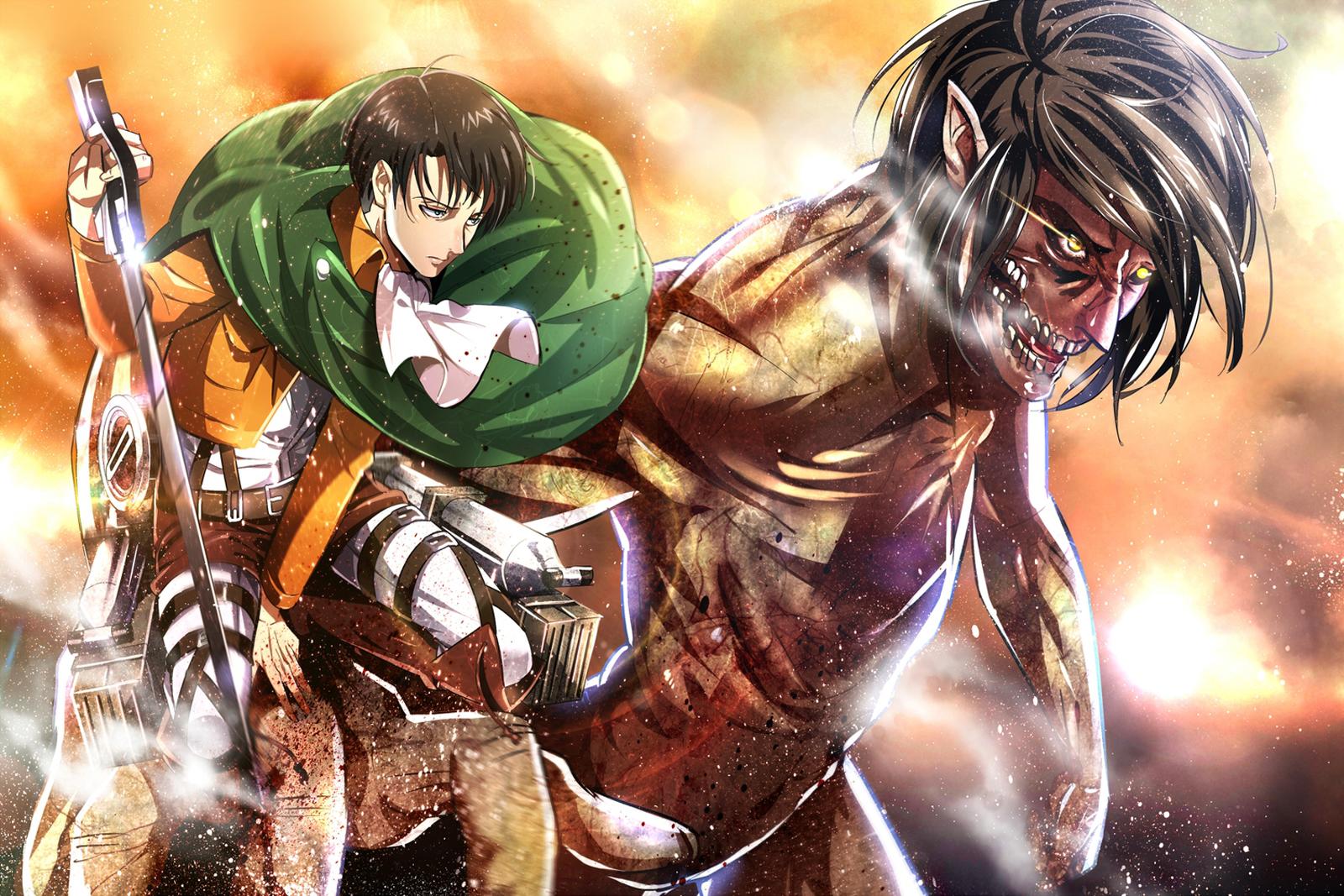 Free Download Attack On Titan Shingeki No Kyojin Levi Rivaille