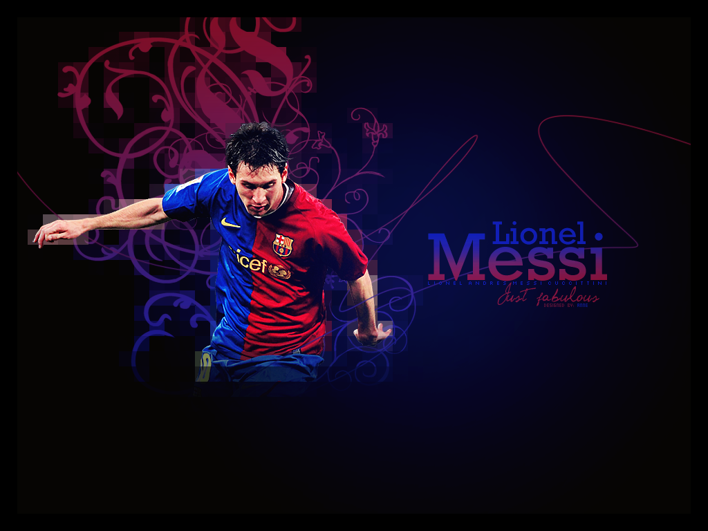 Lionel Messi HD Wallpaper Background   Football Wallpaper 1024x768