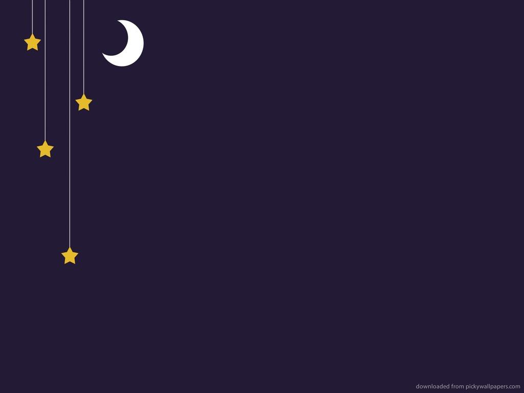 Moon and Star Wallpaper - WallpaperSafari