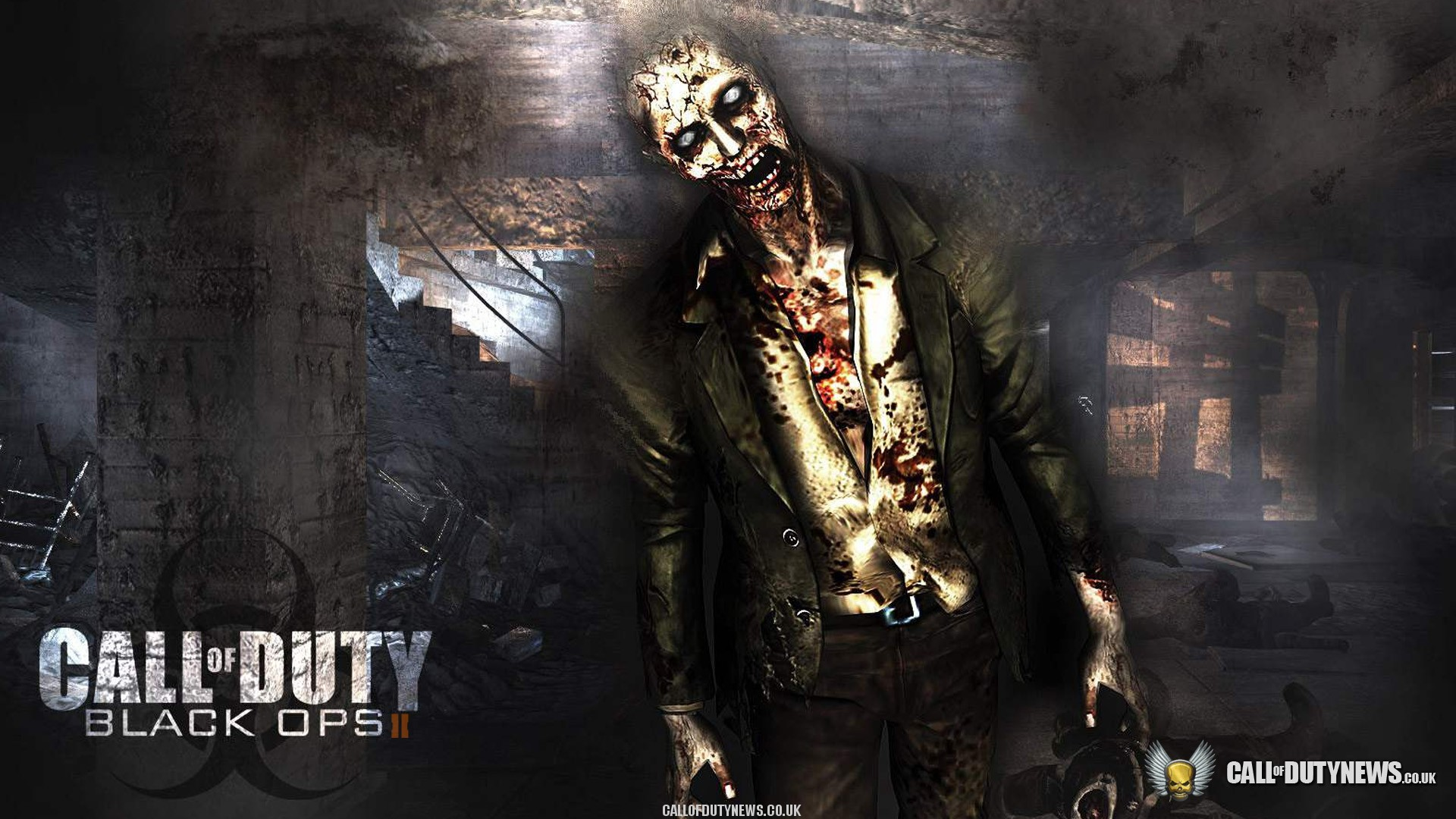 Free Download Black Ops 2 Wallpaper 71 Zombie Call Of Duty