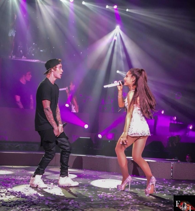 Ariana Grande Performing with Justin Bieber  42   GotCeleb 662x717