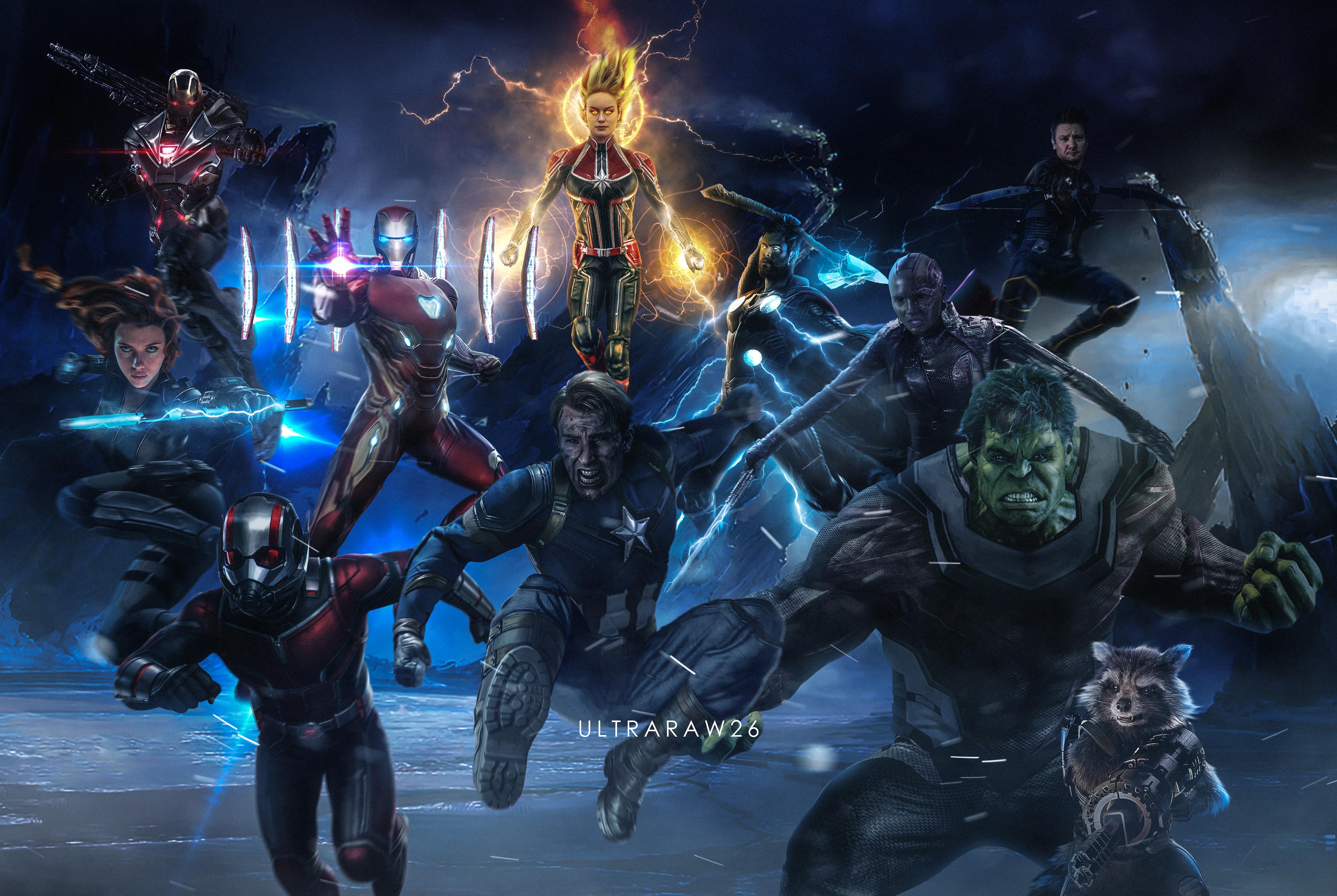 Avengers Endgame Wallpapers Wallpapersafari