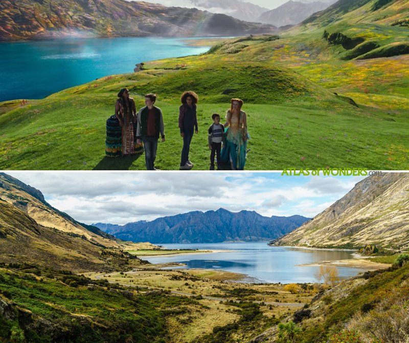 Where was A Wrinkle in Time filmed Filming Locations 800x672