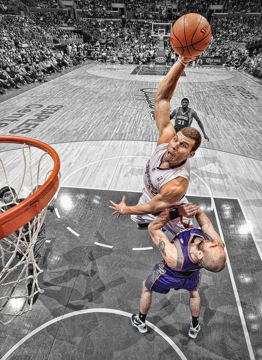 Blake Griffin Dunk IPhone Wallpaper The Art Mad Wallpapers 900x1236
