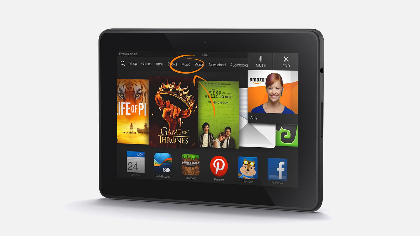Nieuwe Kindle Fire HDX van Amazon heeft superscherm 1600x900