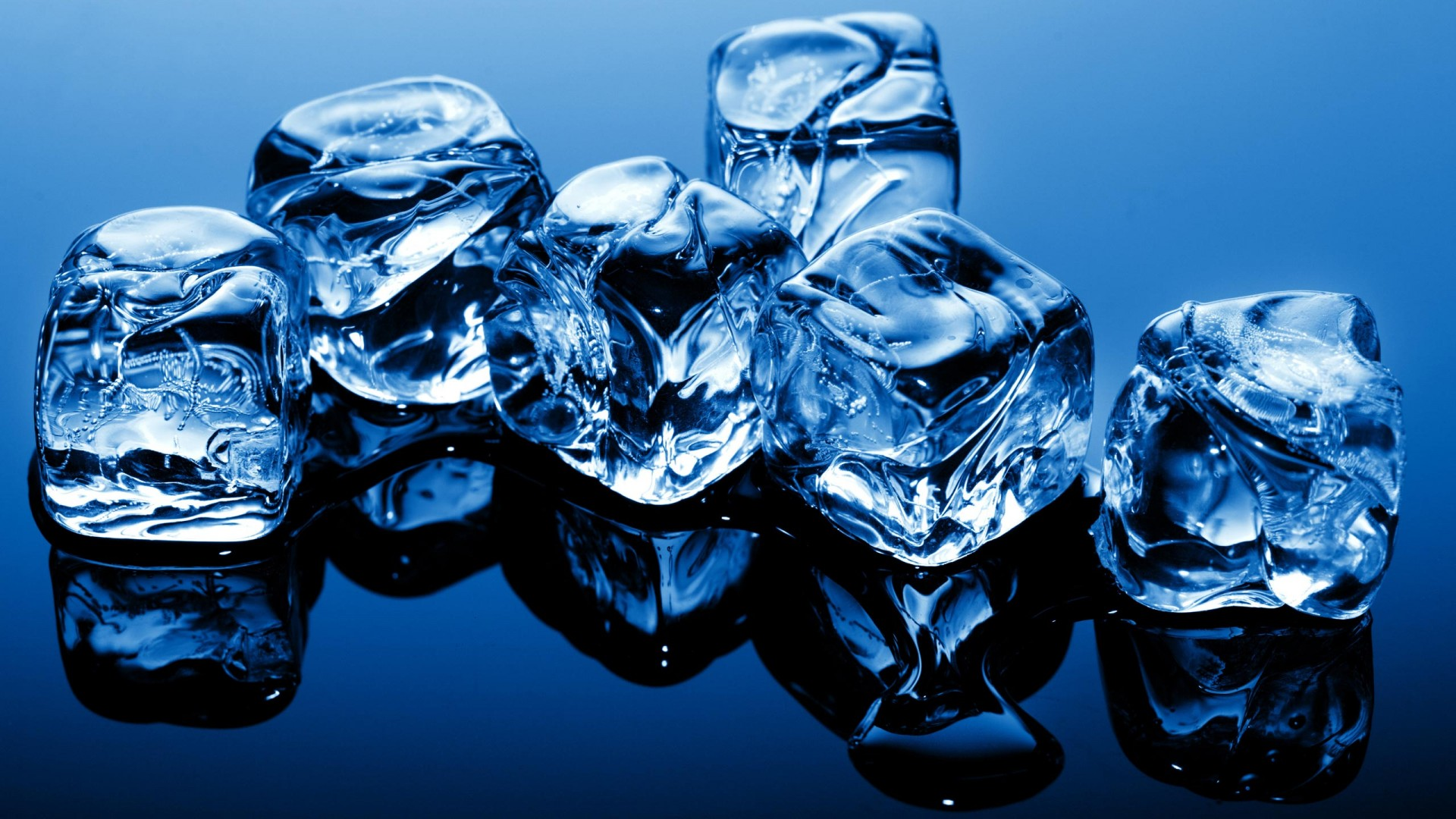 Blue Ice Cubes HD Wallpaper   MixHD wallpapers 1920x1080