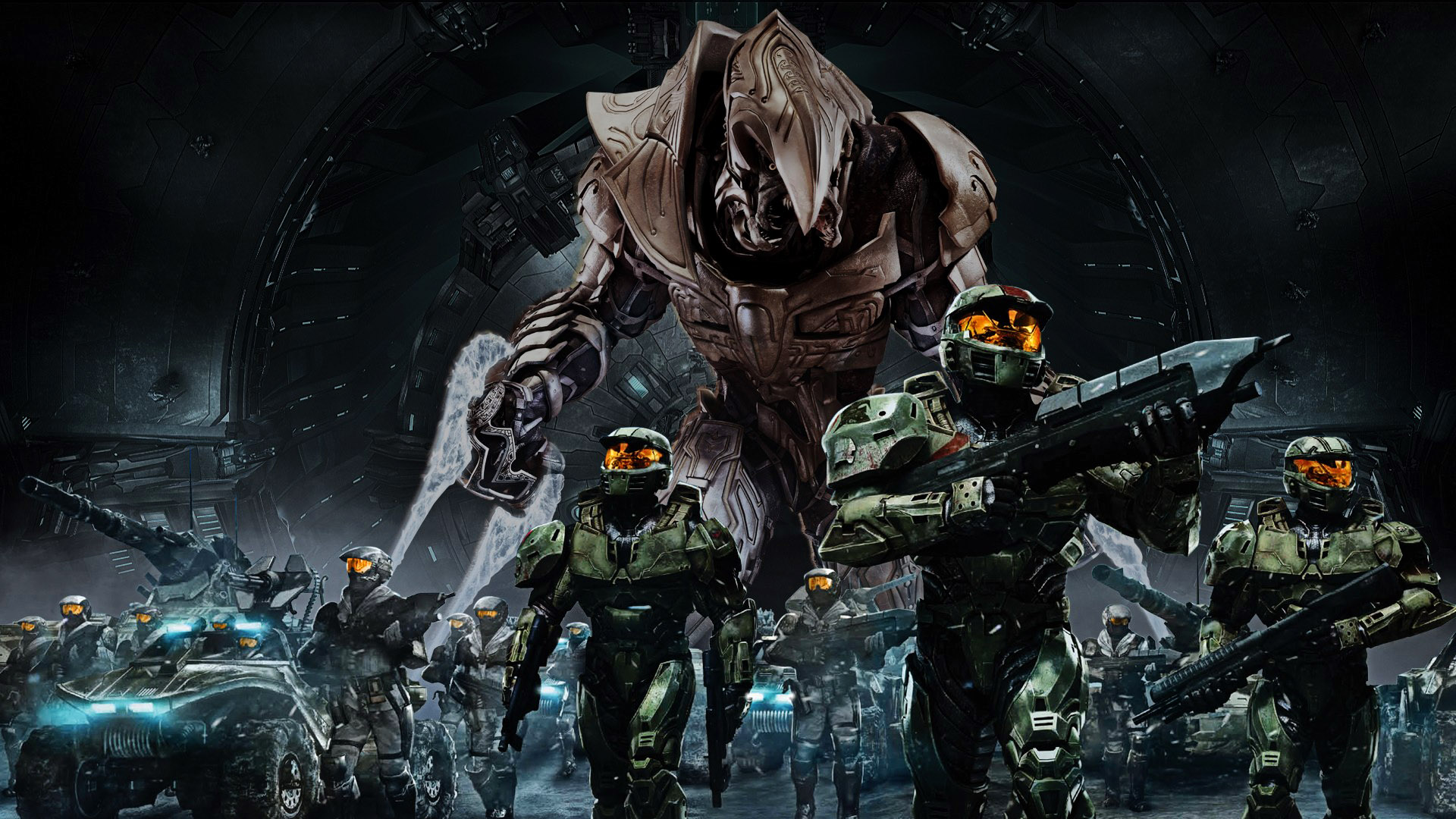 Image   Cool Halo Army HD Wallpaperjpg   Halo Nation The Halo 1920x1080