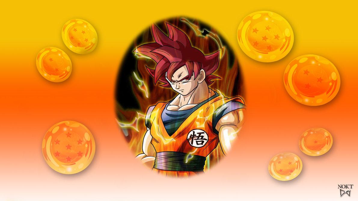 Son Goku God V1 Desktop and mobile wallpaper Wallippo 1191x670