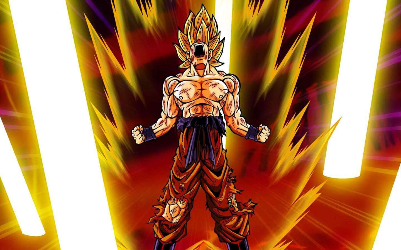 Download the Dragonball anime wallpaper titled Super Saiyan 1440x900