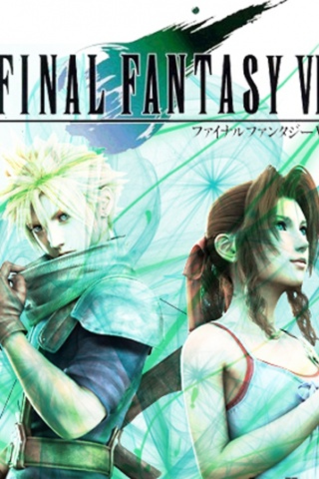 iPhone background Final Fantasy Vii from category games wallpapers for 640x960