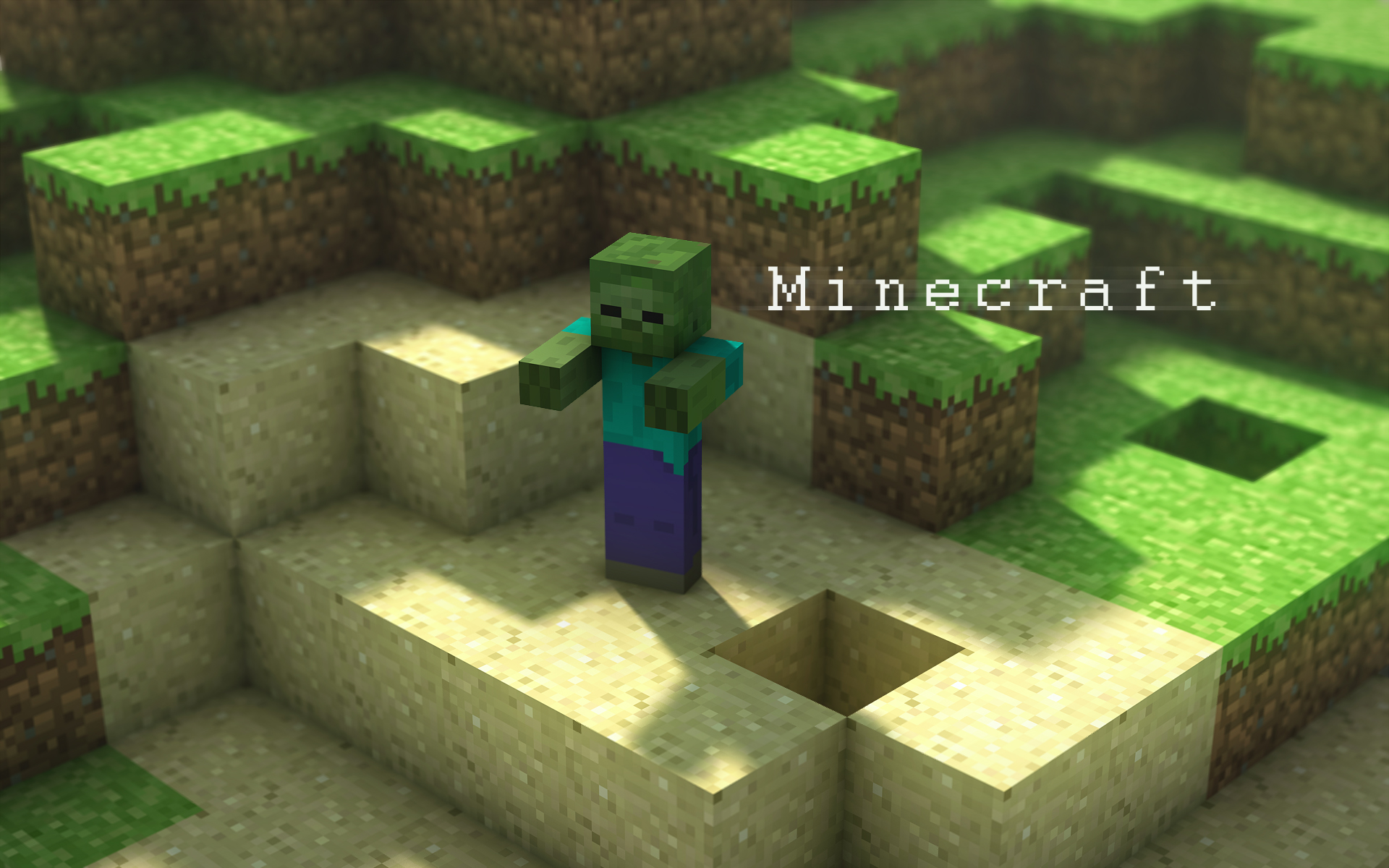 Another Creeper on another great wallpaper 1920x1200