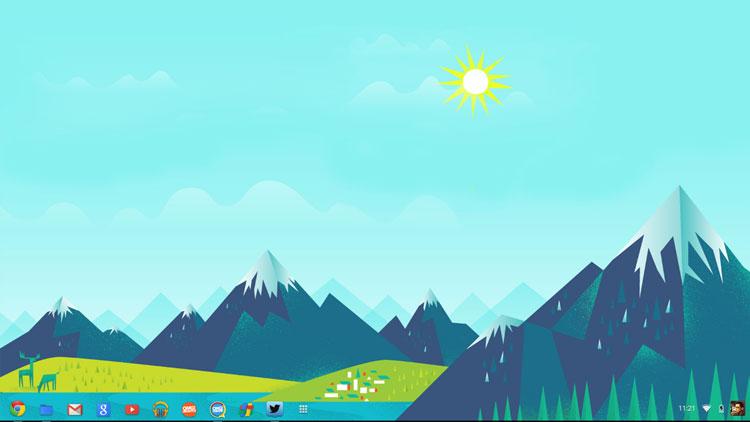 Chromebook Wallpaper Hd Google now wallpaper 750x422