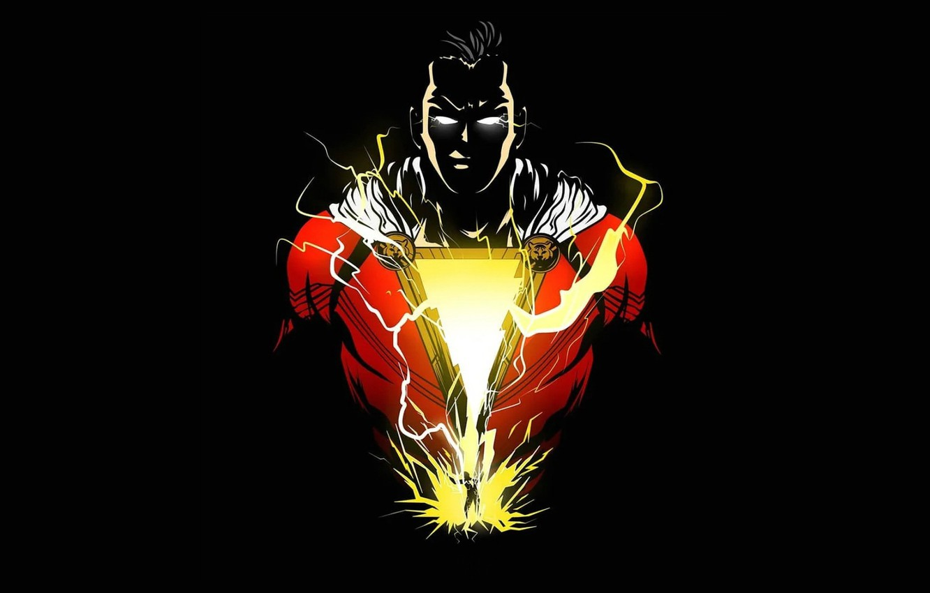 Wallpaper zipper hero hero DC Comics Shazam Billy Batson 1332x850