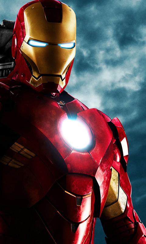 Iron man screensavers and wallpaper wallpapersafari - Iron man cartoon wallpaper ...